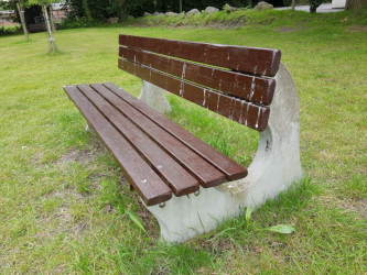 Stolen Bench from the Recreation Ground